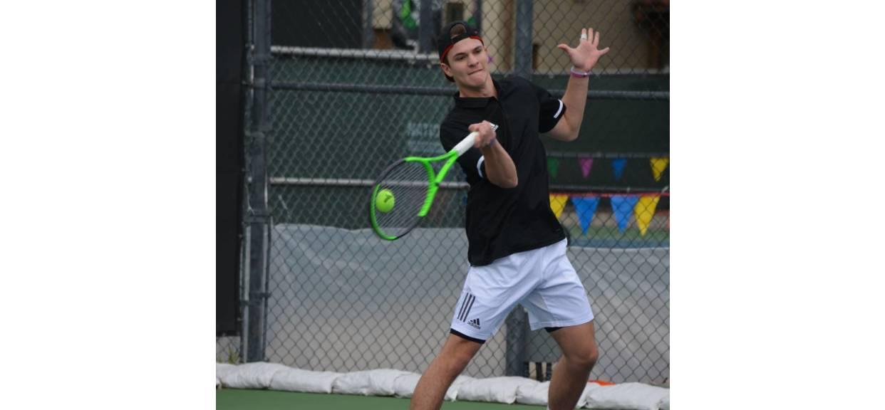 Chris Sunshine - Boys Tennis - Spring Sports Athlete Profile