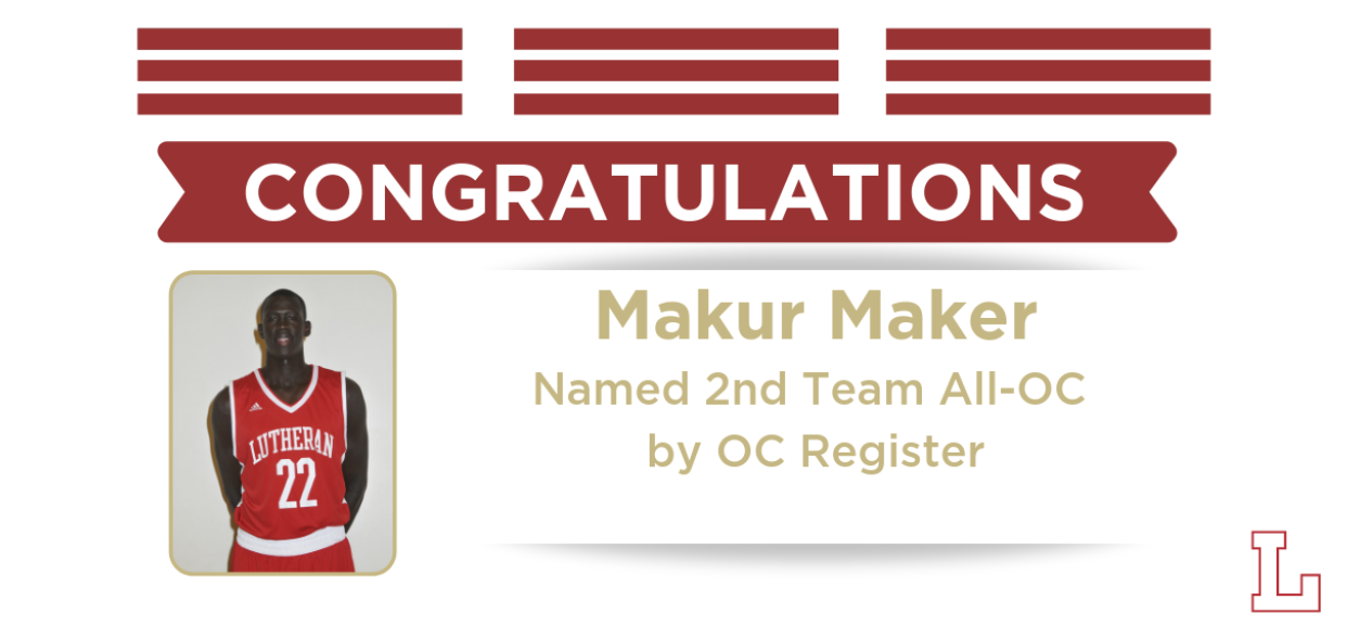 Makur Maker Named 2nd Team All-OC; Isaiah Pope 6th Team