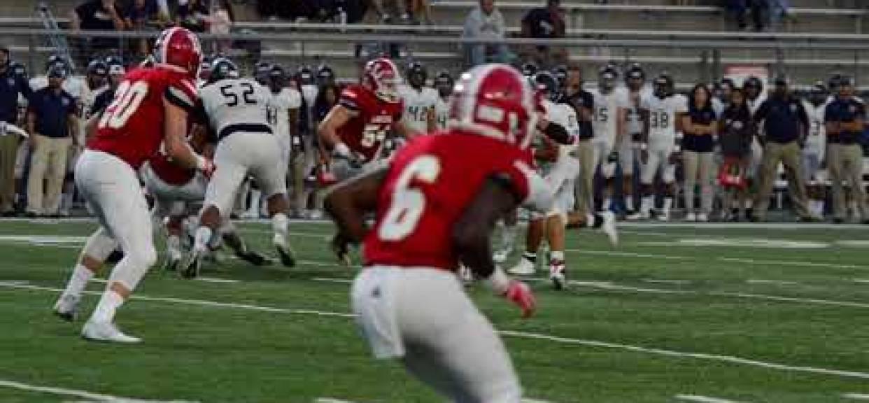 2018 Week 2 - OLu Football vs Vista Murrieta Highlights - Orange Lutheran High School
