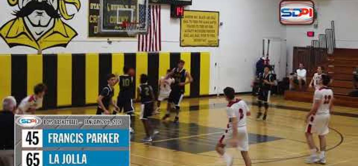 San Diego Boys Basketball Highlights: La Jolla vs Francis Parker