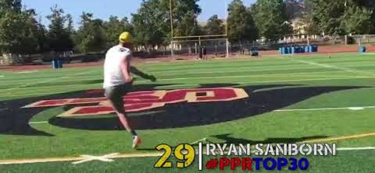 Ryan Sanborn Named One of San Diego's Top 30 Senior Football Players