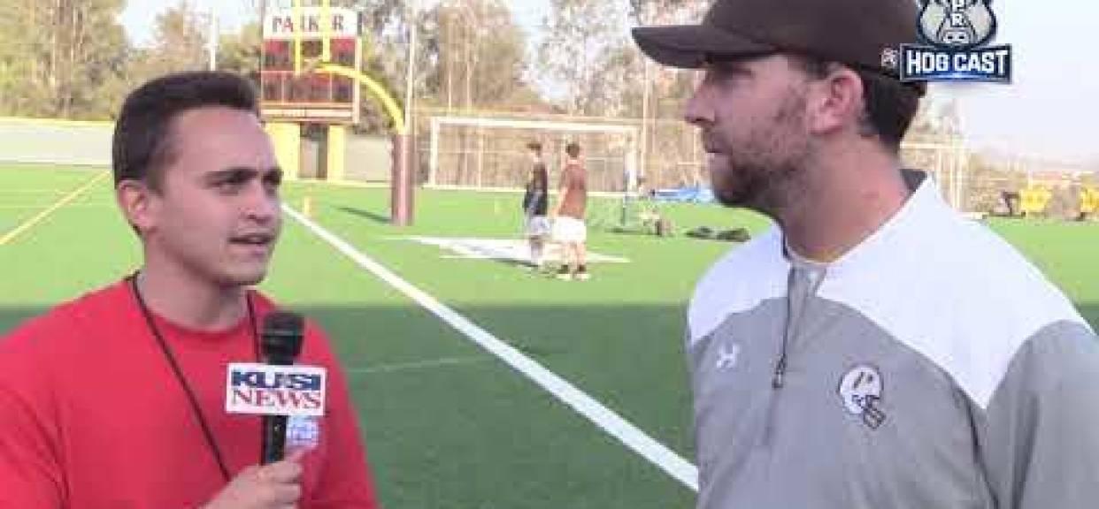 Week 2 Hogcast: Nic Pollino interviews Francis Parker's Coach Matt Morrison