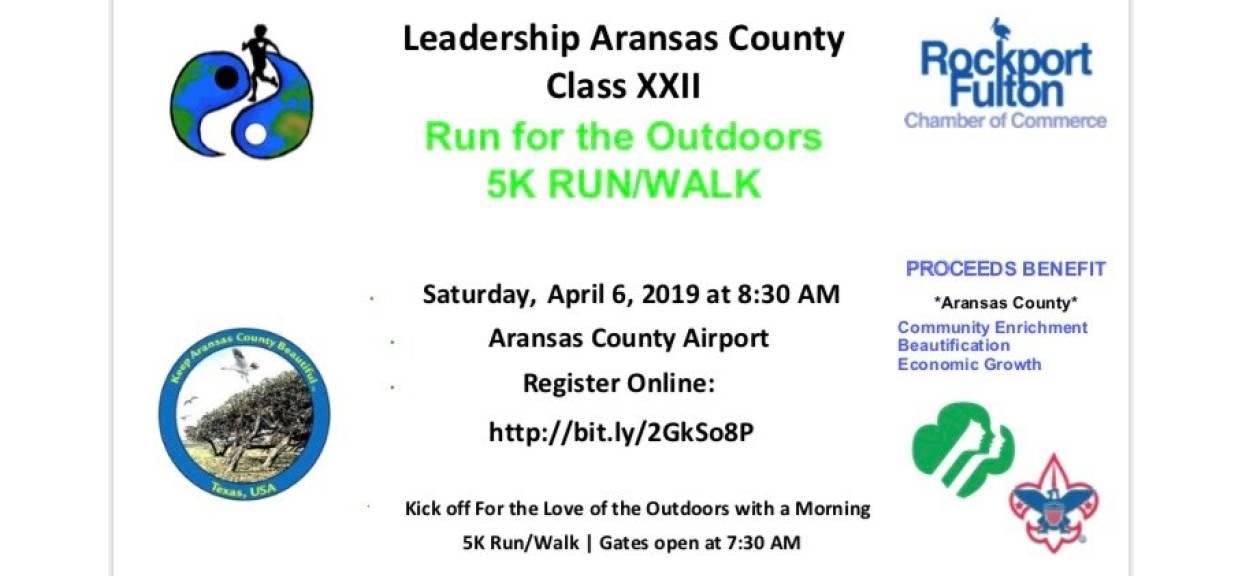Leadership Aransas County Class XXII Run for the Outdoors!