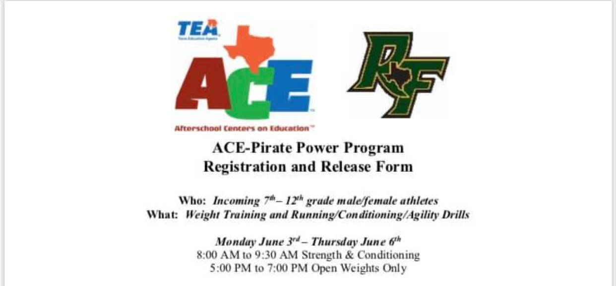 ACE-Pirate Power Program!!