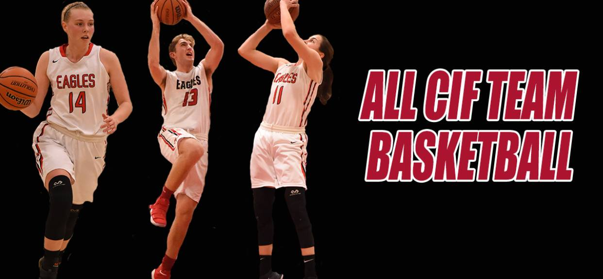 Three Eagles Named to All CIF Teams