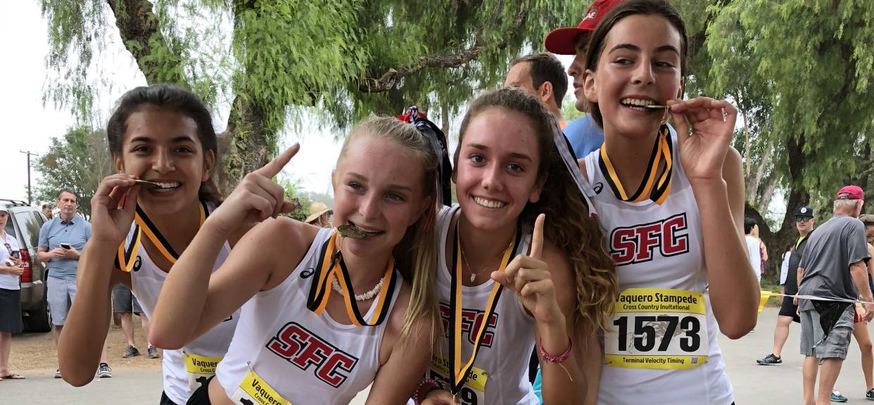 SFC Cross Country Launches into Their Season with Big Wins