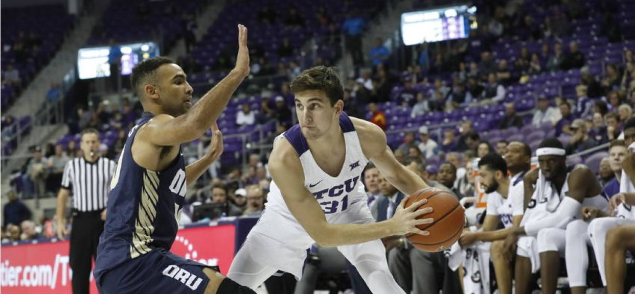 Former Eagle basketball player making presence known at Texas Christian