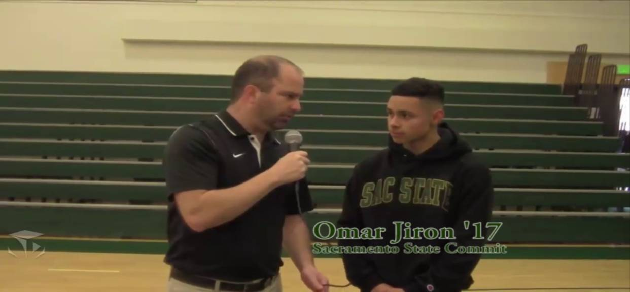 De La Salle Signing Day (2/1/17) - Omar Jiron