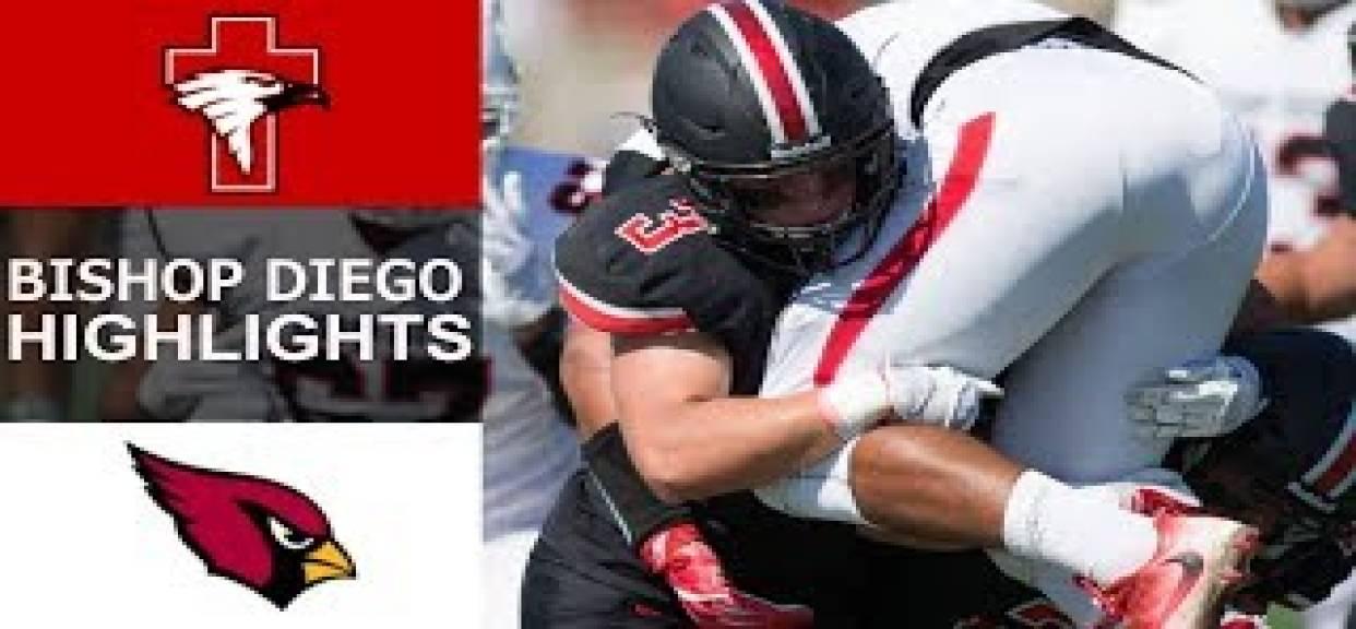 SFC vs. Bishop Diego   Highlights Wk 4 2017
