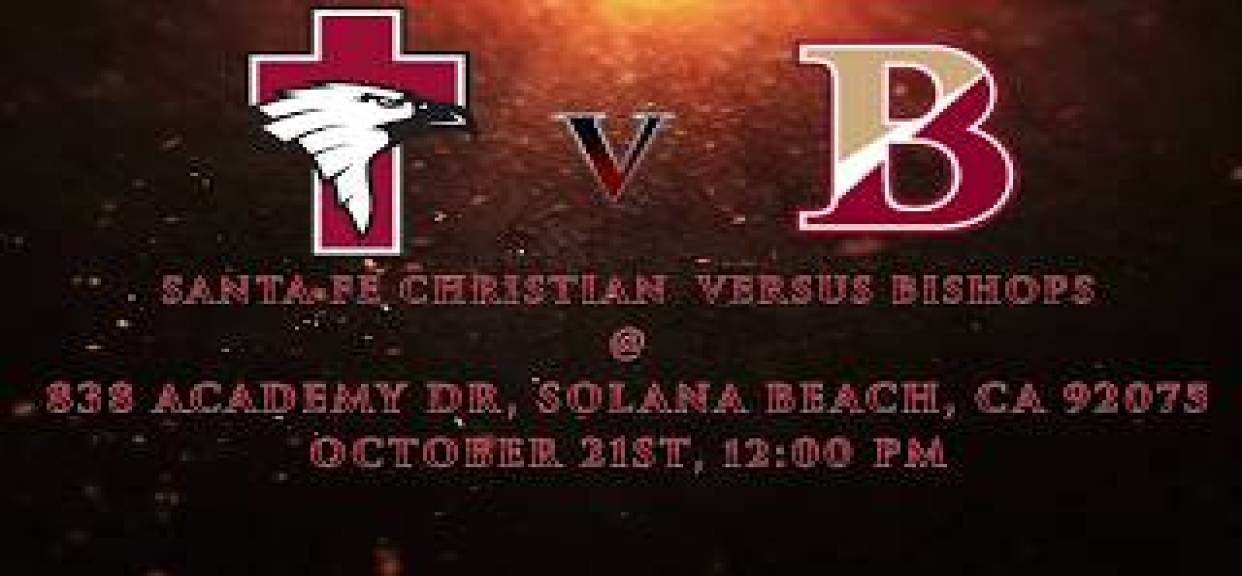 SFC vs. Bishop's | Wk 8 2017 SATURDAY AFTERNOON!!!