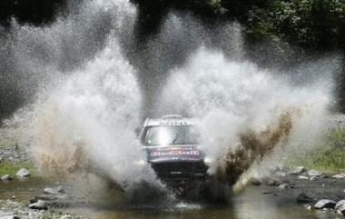 El piloto qatarí ya cosecha cinco etapas ganadas en el Dakar 2015.