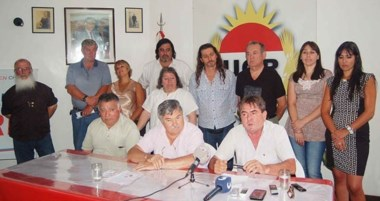 Las autoridades radicales destacaron el  acompañamiento de los precandidatos a legisladores municipales.