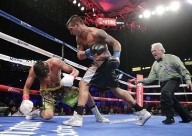 La pelea con John Molina está ternada como mejor pelea del año.