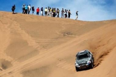 El ruso se quedó con la quinta etapa que unió Copiapó - Antofagasta.