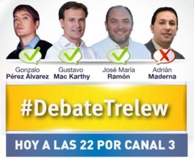 Picante. Pérez Álvarez, Ramón y Mac Karthy tendrán la atención de todos esta noche por Canal 3 de Trelew.