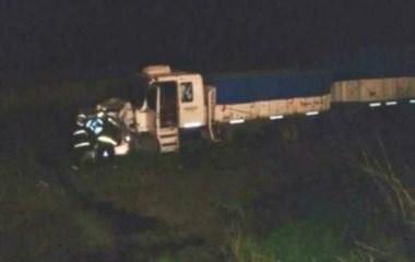 El siniestro se registró de noche en la ruta 11 entre las localidades de Laborde y Pascanas.