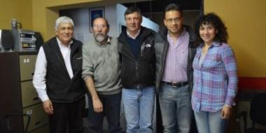El candidato a vicegobernador se reunió con los distintos espacios políticos.