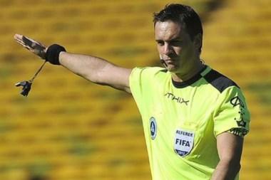 Patricio Loustau será el árbitro del clásico entre Racing y Boca, el domingo, desde las 18.30.