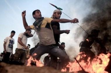 La violencia tiene sede permanente en estas tierras bíblicas.