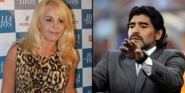 Maradona pide la captura internacional de dos colaboradores de Claudia.