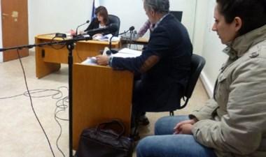 Nadia Kesen, imputada por el crimen de Domingo Expósito Moreno.