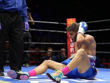 Prichard Colón sufrió uhn derrame cerebral tras el combate ante Terrell Williams en Virginia.