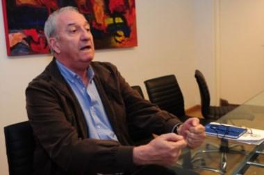 Martins, durante la entrevista en Buenos Aires.