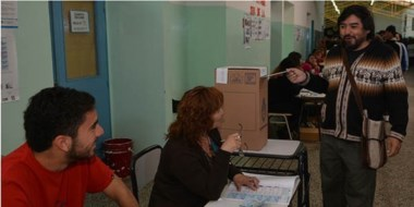 Balance. El candidato a concejal del partido municipal Por Trelew, Ángel Callupil, feliz por la experiencia.