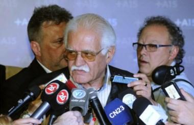 El ex presidente del Banco Central y referente massista ofició de vocero.