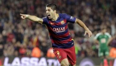El atacante uruguayo podría perderse los dos partidos de la final de la Copa del Rey.