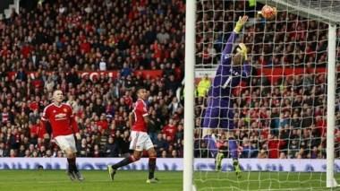 Prácticamente solo una ocasión clara de gol a favor del United en el tramo final del partido con el remate al travesaño de Lingard.