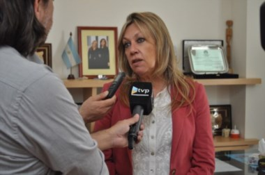 Rossana Artero, intendente de Rawson.