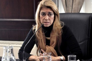 Ministra Débora Giorgi. Una de las
