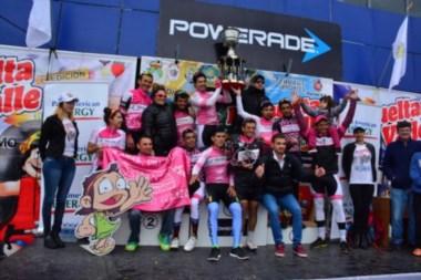 El equipo Shania Competicion fue el mejor de la XI edición de la Vuelta al Valle.