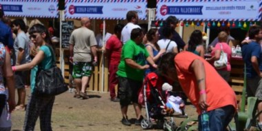 Exitoso. La cantidad de visitantes superó la expectativa de los organizadores del festival gastronómico.