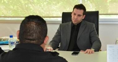 Habló. El nuevo testigo habló acompañado de su abogado de confianza, Martín Castro y ante Jornada.