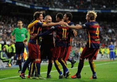 El Barcelona se exhibe ante el Real Madrid en el clásico. Los de Luis Enrique fueron muy superiores al Meregue.
