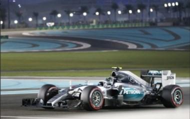 Nico Rosberg fue el más rápido en los segundos ensayos.