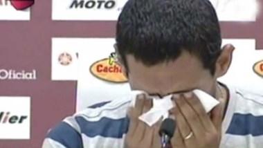 Quebró en llanto: la emoción de Pepe Sand en su vuelta a Lanús.