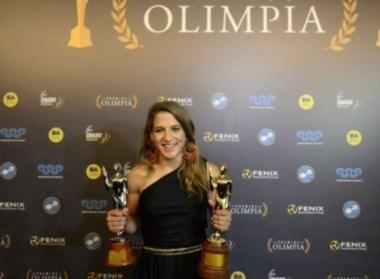 Paula Pareto, la primera judoca de la historia que gana un Olimpia de Oro.