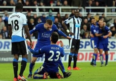 El sorprendente Leicester City pasó Navidad en la punta de la Premier League.