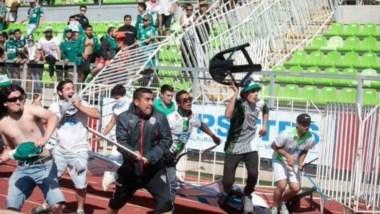 Gravísimos altercados en el Wanderers-Colo Colo dentro y fuera del estadio.