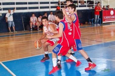 En la categoría U17, Huracán le ganó a Ferrocarril Patagónico en Puerto Madryn por 76 a 43.