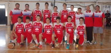 Los chicos de Racing Club fueron campeones en la categoría U15, tras vencer en la final a Huracán por 71 a 55.