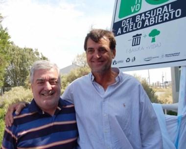 Mario Das Neves junto a Ignacio Agulleiro.