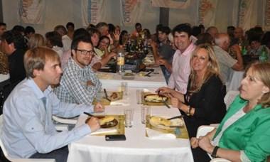 El fin de semana pasado se realizó la cena Aniversario de 28 de Julio.