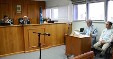 Audiencia. Los jueces escucharon los alegatos de las partes involucradas en el juicio oral y público.