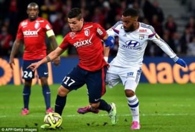 El Lyon no pudo con Lille y si mañana gana el PSG, pasará a liderar.