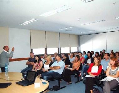 Las jornadas, compuestas por tres cursos, contaron con una importante participación.