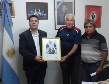 Los veteranos fueron reconocidos en Puerto Madryn.